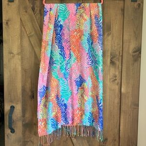 Lilly Pulitzer Accessories - 🌺EUC Lilly Pulitzer Electric Feel Murfee Scarf🌺